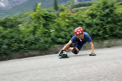 Drop Down Longboard Sliden