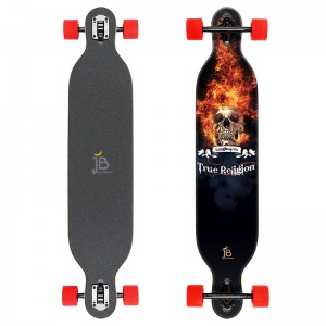 "Longboard Cruiser von Jan Banan - Design ""True Religion"""