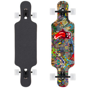 Longboard Cruiser Music Design