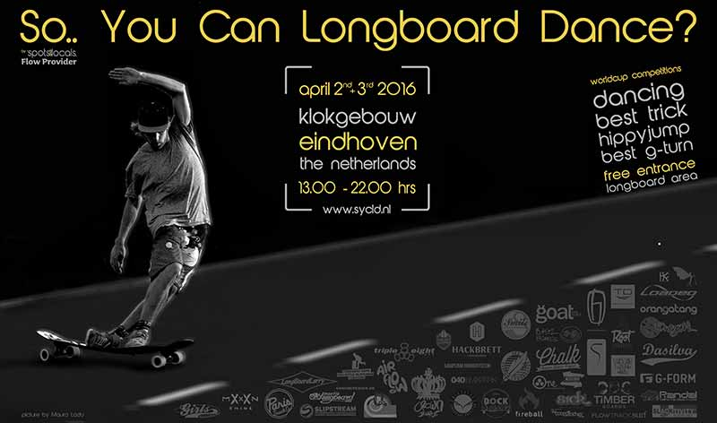 Longboard Dancing Weltmeisterschaft Holland