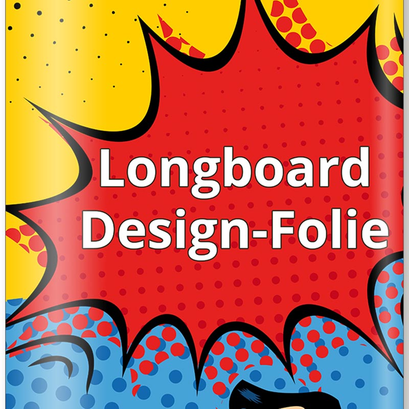 Longboard Design Folie Detail