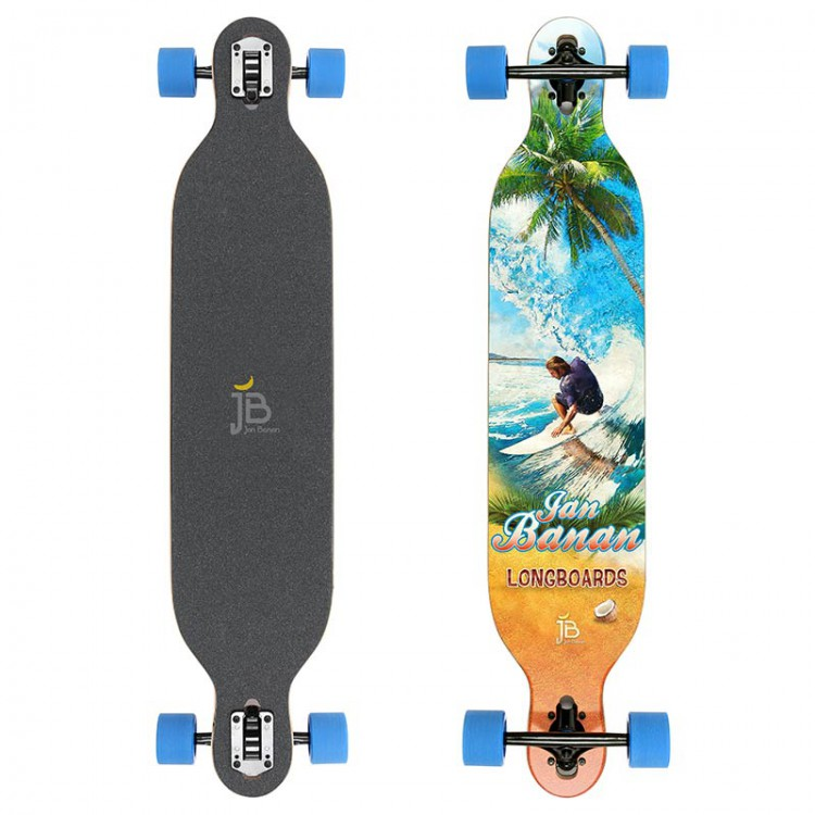 longboard drop through hier die besten longboards. Black Bedroom Furniture Sets. Home Design Ideas