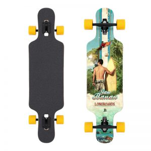 Longboard Drop Through Jan Banan Surfer Man