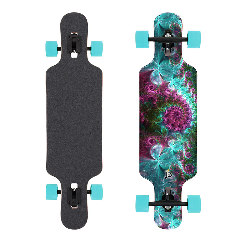 longboard fuer frauen fractal2 s2 jan banan longboards. Black Bedroom Furniture Sets. Home Design Ideas